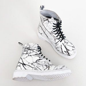 Dr. Martens | 1460 Pascal Marble White Leather